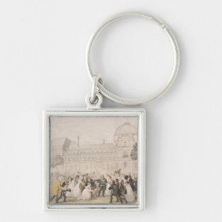 Vuelta de Louis XVIII a París el 8 de julio de 18 Llaveros