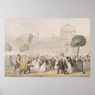 Vuelta de Louis XVIII a París el 8 de julio de 18 Poster