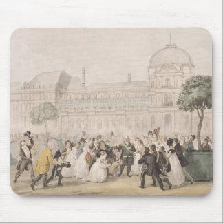 Vuelta de Louis XVIII a París el 8 de julio de 18 Alfombrilla De Ratones