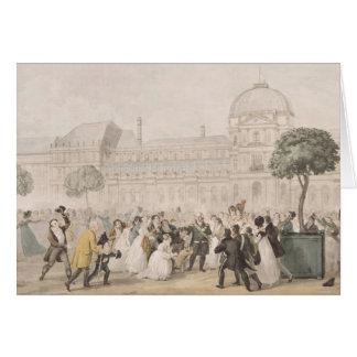 Vuelta de Louis XVIII a París el 8 de julio de 18 Tarjetas
