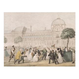 Vuelta de Louis XVIII a París el 8 de julio de 18 Postales