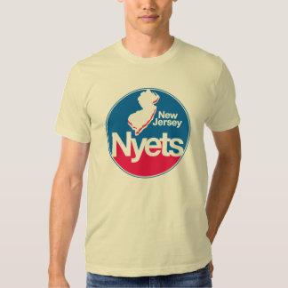Vuelta de NJ NYETS (frente y parte posterior) Polera