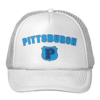 Vuelta de Pittsburgh Gorro De Camionero
