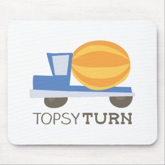 Vuelta de Topsy Mousepad