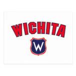 Vuelta de Wichita Postales