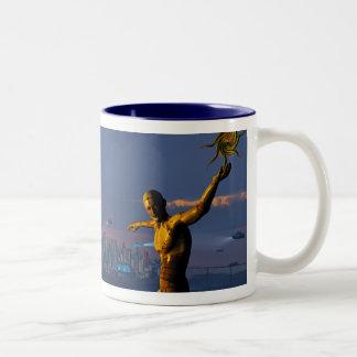 Vuelta del albatros taza de café