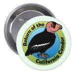 Vuelta del cóndor de California Pin