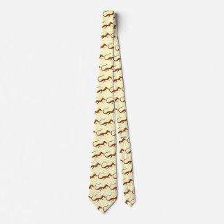 Vuelta del dragón (recorte) corbata personalizada
