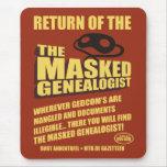Vuelta del Genealogist enmascarado Tapete De Raton