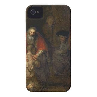 Vuelta del hijo despilfarrador, c.1668-69 iPhone 4 carcasa