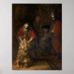Vuelta del hijo despilfarrador, c.1668-69 posters