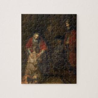 Vuelta del hijo despilfarrador, c.1668-69 puzzle con fotos