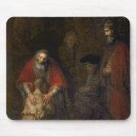Vuelta del hijo despilfarrador, c.1668-69 tapetes de ratones