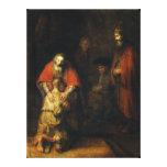 Vuelta del hijo despilfarrador de Rembrandt Lienzo Envuelto Para Galerias