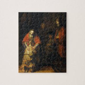 Vuelta del hijo despilfarrador de Rembrandt Puzzle Con Fotos