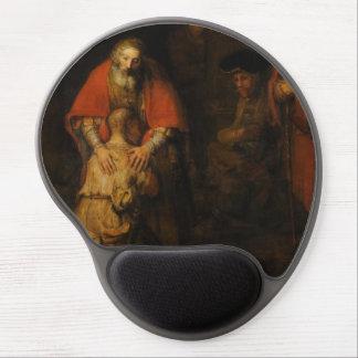 Vuelta del hijo despilfarrador de Rembrandt Van Alfombrillas De Ratón Con Gel