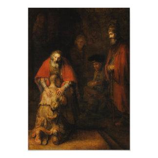Vuelta del hijo despilfarrador de Rembrandt Van Comunicados