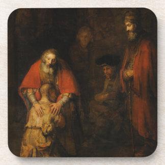 Vuelta del hijo despilfarrador de Rembrandt Van Posavasos De Bebidas