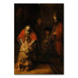 Vuelta del hijo despilfarrador de Rembrandt Van Ri