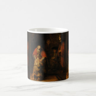 Vuelta del hijo despilfarrador de Rembrandt Van Taza