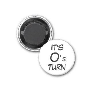 Vuelta del o del ~ del imán del refrigerador del d