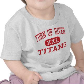 Vuelta del río - titanes - centro - Stamford Camisetas