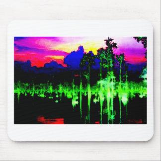 Vuelta del sorteo+Fotografía abstracta Digital de Mousepad