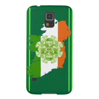 Vuelta del trébol de Irlanda de Kenneth Yoncich Carcasa Galaxy S5