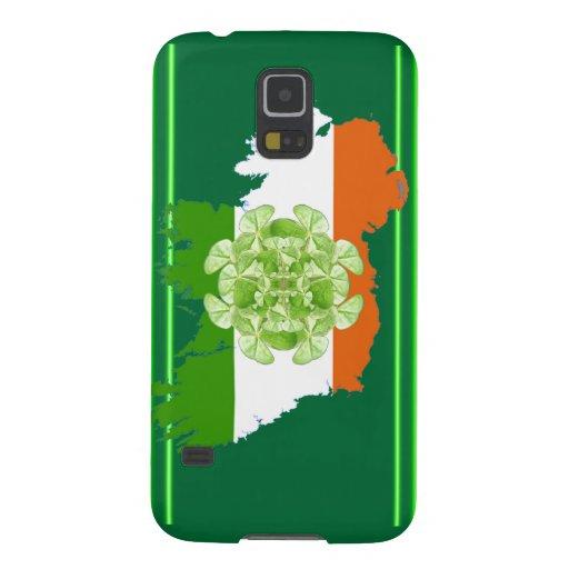 Vuelta del trébol de Irlanda Carcasas Para Galaxy S5