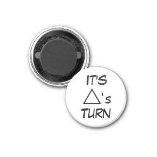 Vuelta del triángulo del ~ del imán del refrigerad