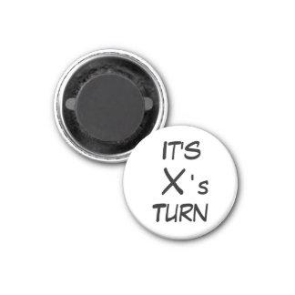 Vuelta del x del ~ del imán del refrigerador del d