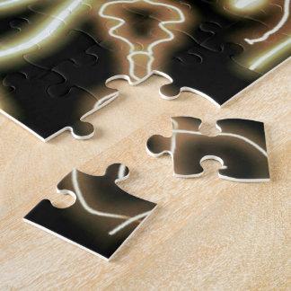 Vuelta-hacia fuera eléctrica puzzles con fotos