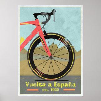 Vuelta una bici de España Poster