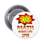 Vueltas de la matemáticas pin