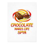 Vueltas del chocolate comunicado