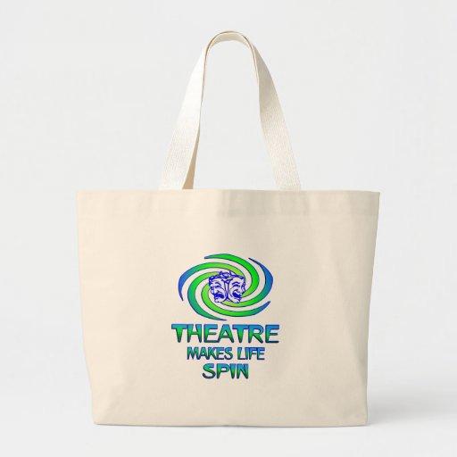 Vueltas del teatro bolsas de mano