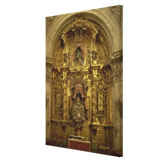 Vuelva a presentar de la capilla del sacramento lona estirada galerias