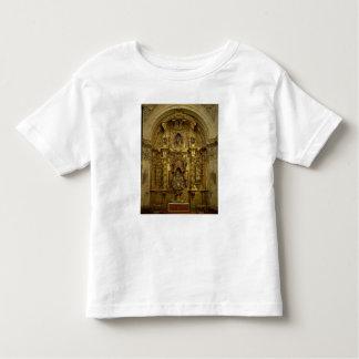 Vuelva a presentar de la capilla del sacramento playera de niño