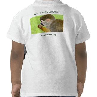 Vuelva camiseta de la expedición del Amazonas