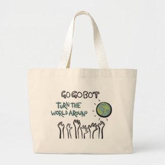 Vuelva el bolso del mundo - bolsa de mano