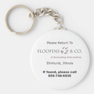 Vuelva por favor al llavero de Floofins y del Co.