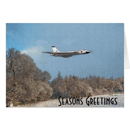 Vulcan Bomber Card