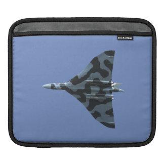 Vulcan bomber flying sleeve for iPads