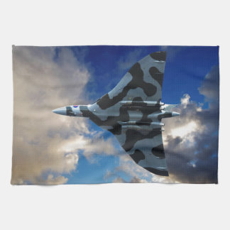 Vulcan bomber in flight towel