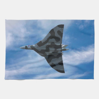 Vulcan bomber in flight towels