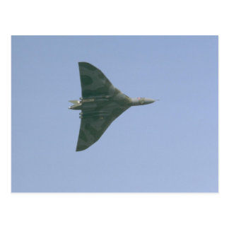 Vulcan Bomber Postcard