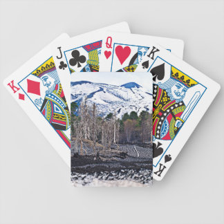 Vulcan Etna on the Isle OF Sicily Bicycle Playing Cards