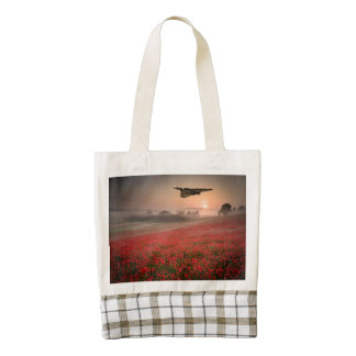 Vulcan Flypast Zazzle HEART Tote Bag
