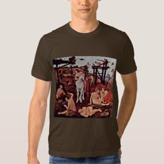 Vulcan (Hephaestus) And Aeolus By Piero Di Cosimo T-shirts