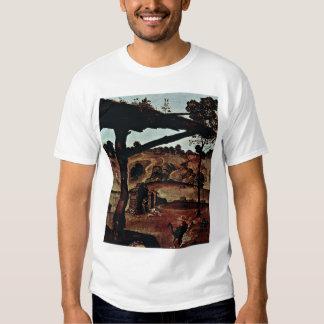 Vulcan (Hephaestus) And Aeolus Detail By Piero Tee Shirt